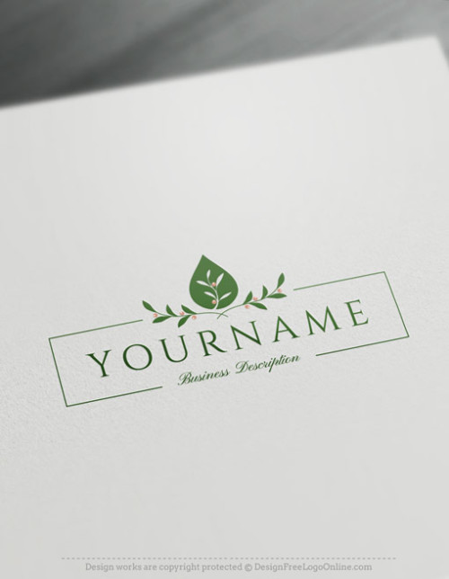 Free Oil Drop Logo Maker Olive Logo Template