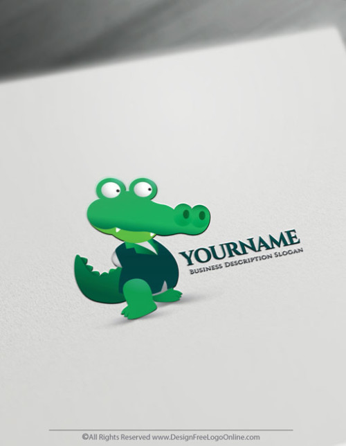 Make a Alligator logo in minutes without registration. ‎Be your own logo designer for free! Instantly download your new Crocodile Logo Design Now