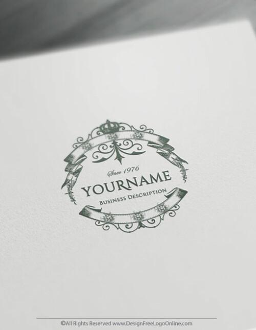 Free Vintage Logo Maker - Retro Fashion Logo Template