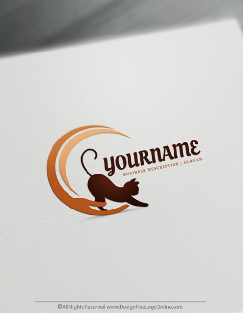 logos with kittens