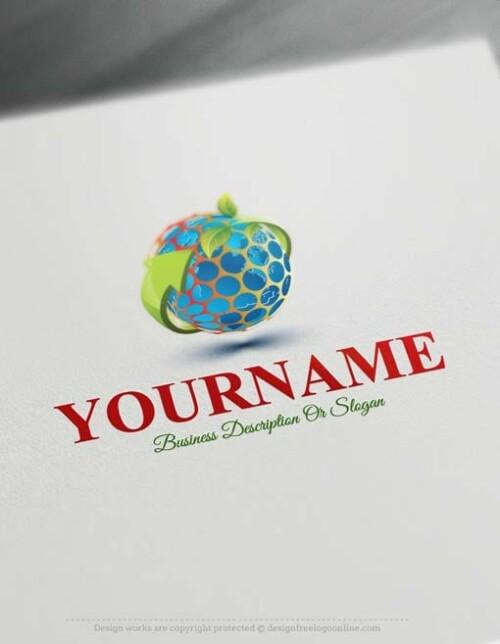 eco-globe-logo-design-free-logomaker