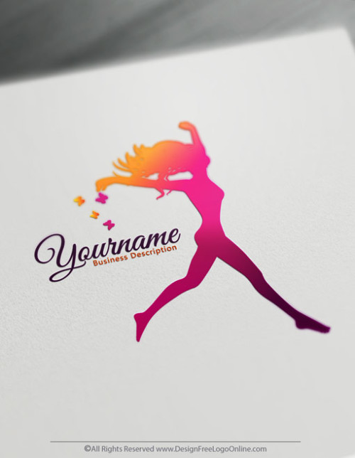 happy Woman logo maker