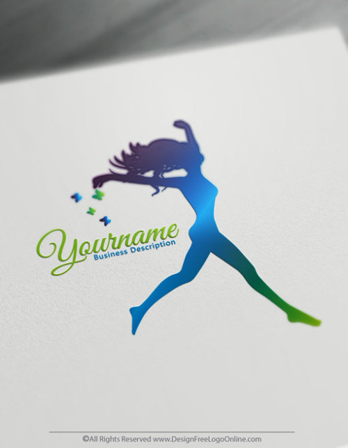healthy Woman logo maker