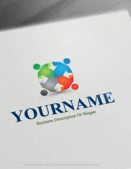 human-group-logo-design-free-logomaker
