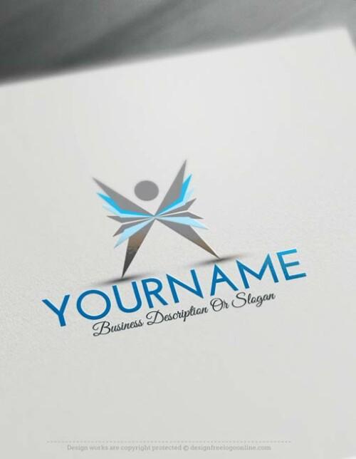 human-logo-free-logomaker