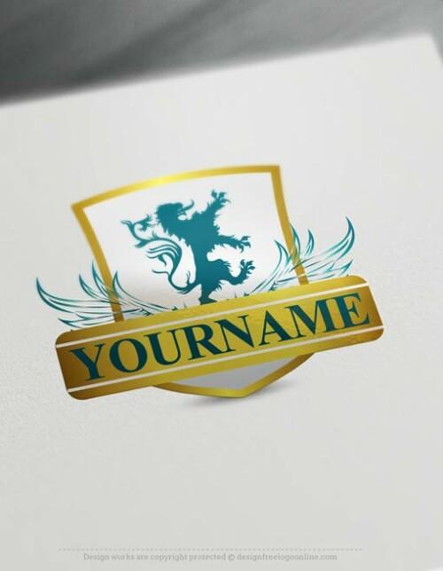 lion-logo-design-free-logomaker