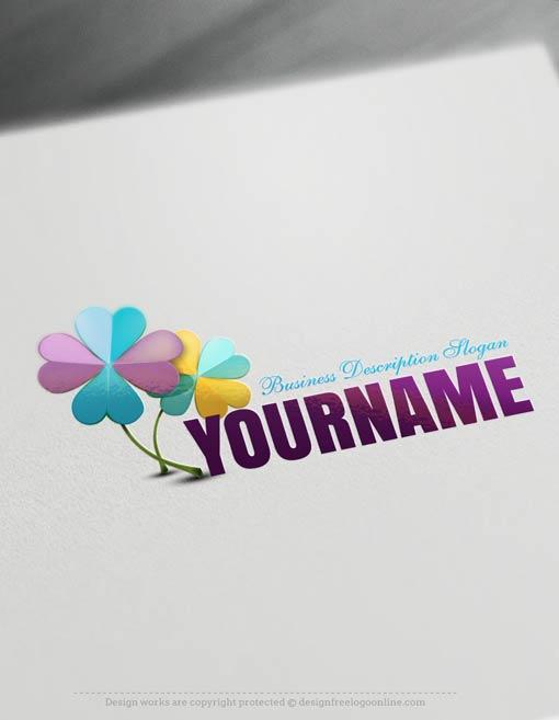 logo-design-Clover-free-logomaker