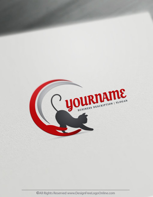 Cat Logo Template - logos with kittens