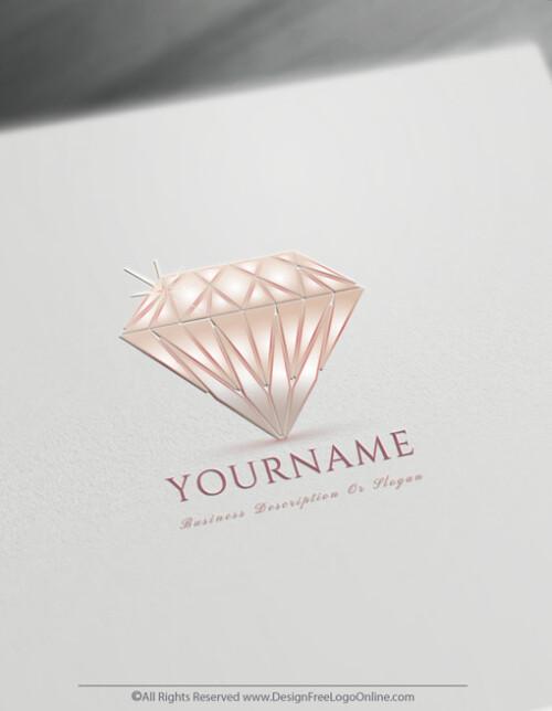 pink diamonds logo maker