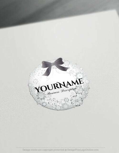 snowflake Gift Logo Design