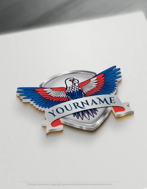 Design a Shield Logo Instantly with the Free Eagle Logo Maker