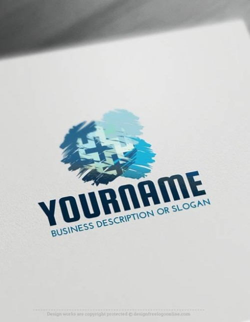 000535-Painbrush-logo-free-logomaker