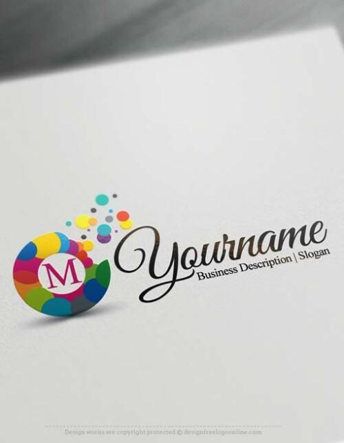 000543-Bubbles-logo-design-free-logos-online