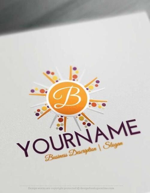 000551-Alphabet-sun-Logo-design-free-logos-online