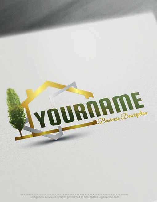 Best free real estate logo designs free logo maker for Best house logo design