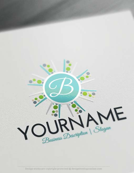 Alphabet-sun-Logo-design-free-logos-online