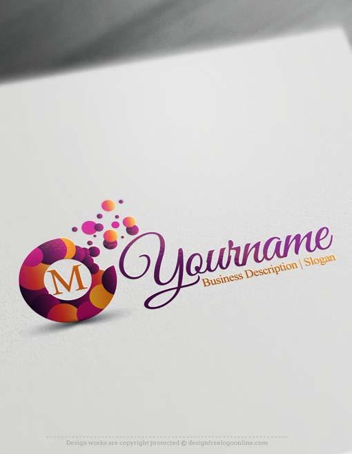 Bubbles-logo-design-free-logos-online