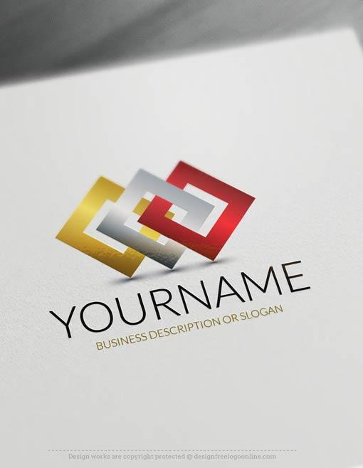 Connection-logo-free-logomaker