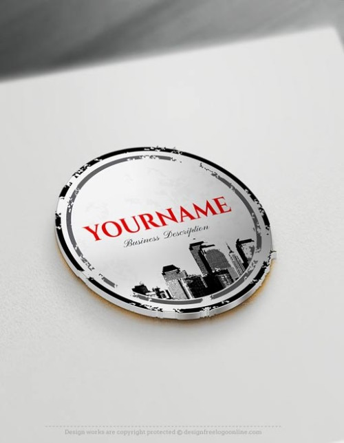 Create your own Urban City logo design free online logo maker