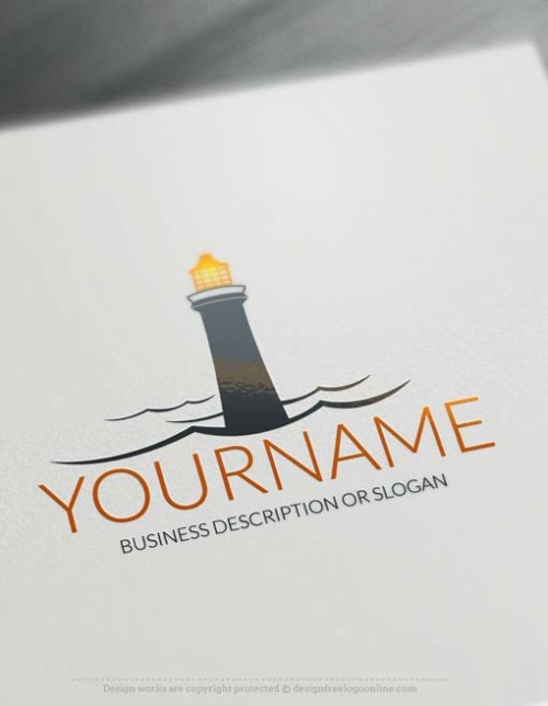 Lighthouse-logo-free-logomaker