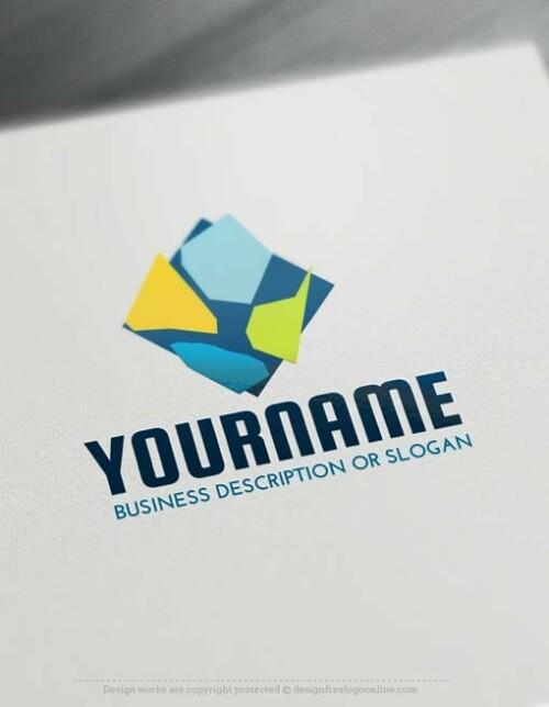 Mosaic-logo-free-logomaker