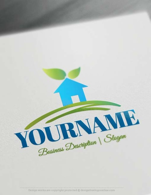 Real-Estate-house-free-logo-design