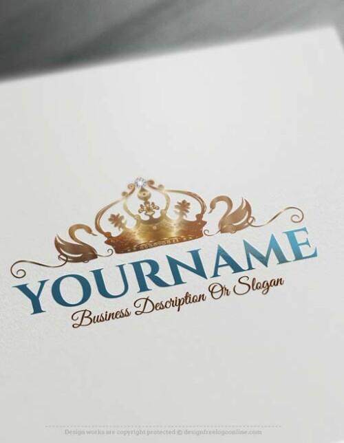 crown-swan-logodesign