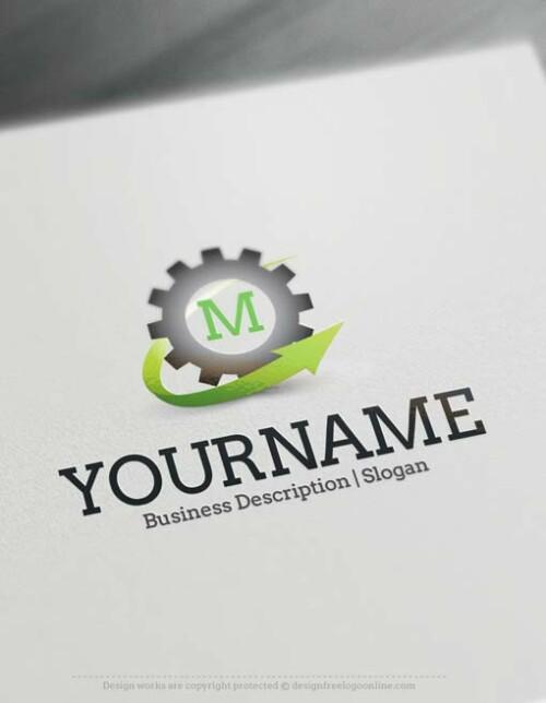 -gear-Industry-logo-design
