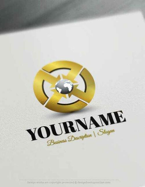 globe-arrow-logo-design-free-logos-online