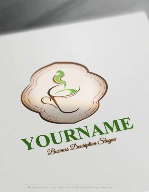 green-coffee-Logo-design-free-logos-online