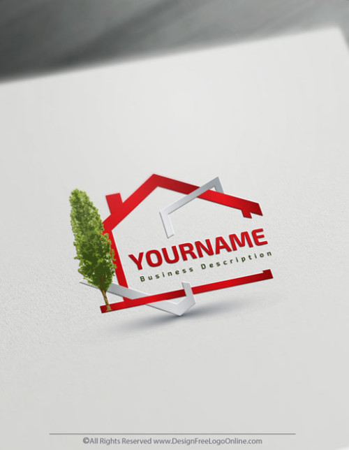 Online House Logo Design - Free Construction Logo Maker