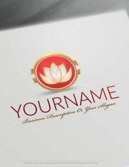 000562-Design-Free-Lotus-Flower-Logo-Templates