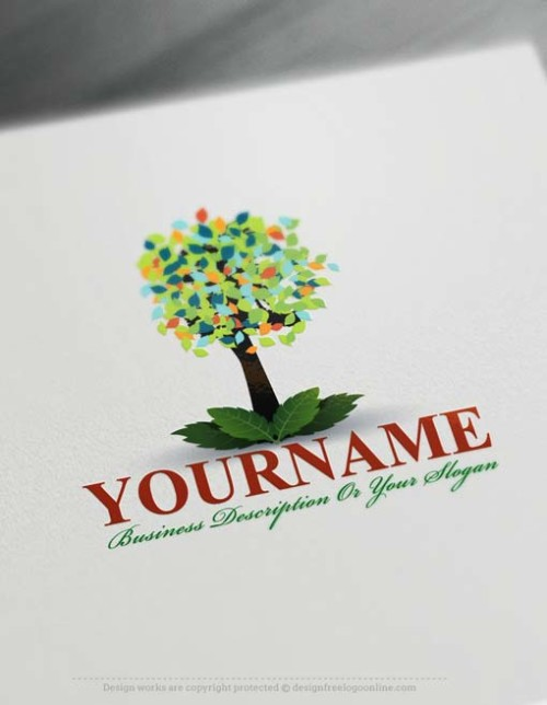 000570-Design-Free-tree-Logo-Template