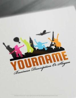 000575-Design-Free-travel-Logo-Template