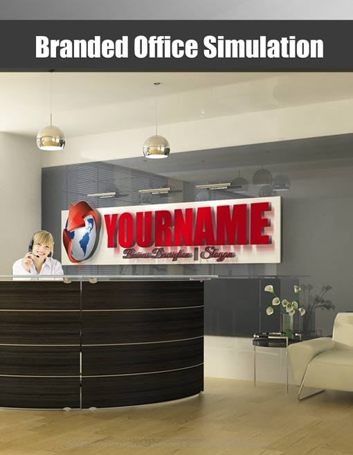 Branded Office Simulation - ONLY $9