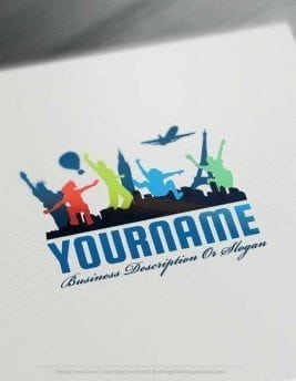 Design-Free-travel-Logo-Template