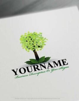 Free-tree-Logo free logo maker