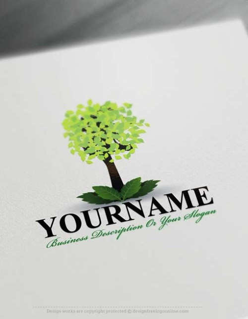 Free-tree-Logo free logo maker