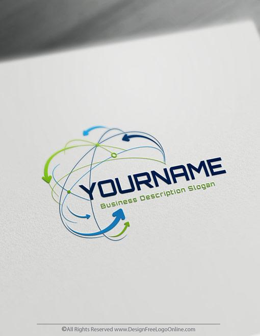 Technology Networks Logo Design
