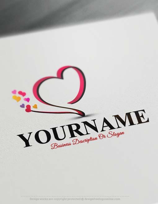 000585-Design-Free-heart-Logos
