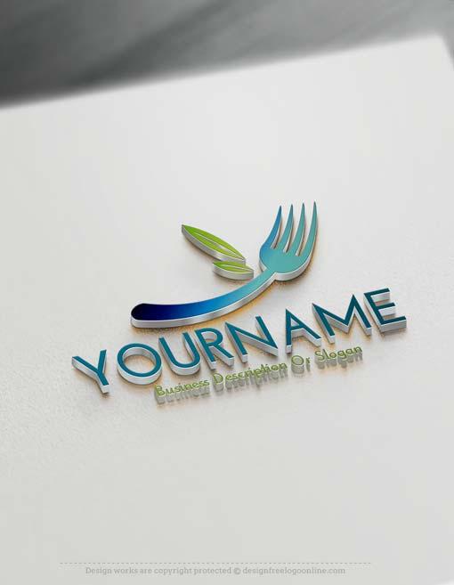 000588-Free-fork-Logo-template