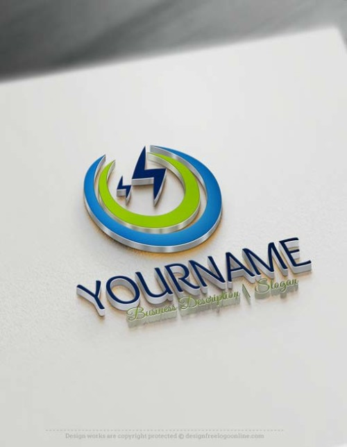 Design Your Own Electrician Logo Using The Best Free Logo Maker