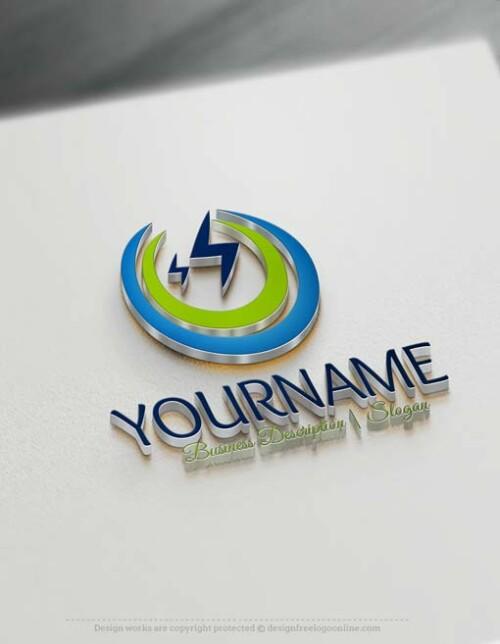 000589-Electrician-logo-design-free-logos