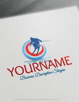 000592-Skiing-Logo-design-free-logos