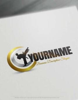 000594-Karate-Logo-design-free-logos