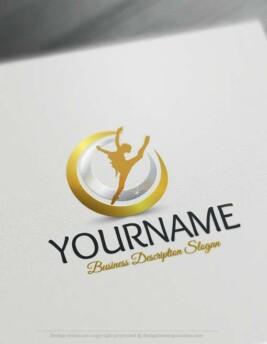 Ballet-Logo-design-free-logos