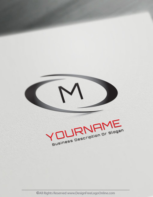 Create Infinity Abstract Logo with the Free Letter Logo Maker