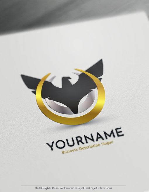 Free eagle logo maker create your own eagle logo online for Design online