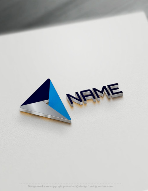 Free Geometric Logo maker - Online Triangle Logo design