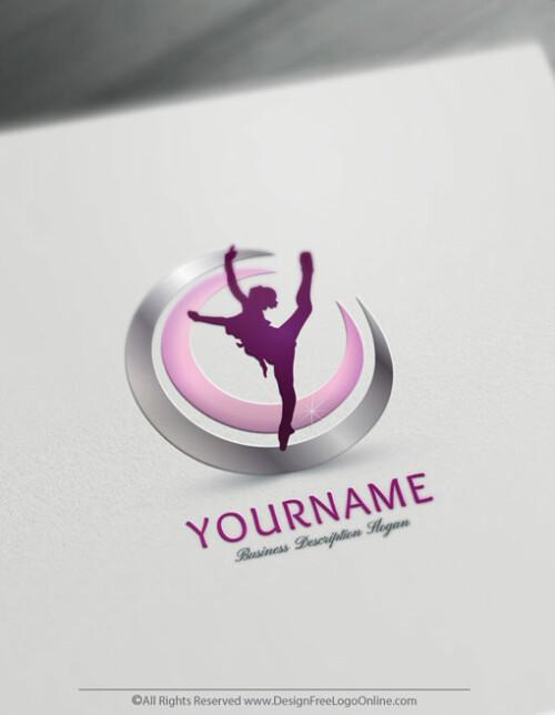 Ballet logo template - Dancing Logos